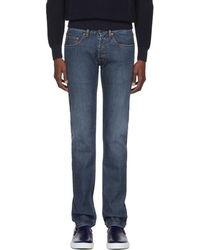 Brioni - Blue Vens Skinny Jeans - Lyst