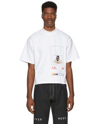 Pyer Moss - White Fed Up T-shirt - Lyst
