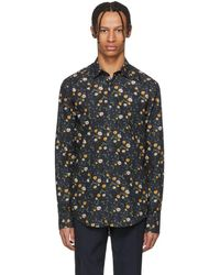 Tiger Of Sweden - Navy Farrell Shirt - Lyst