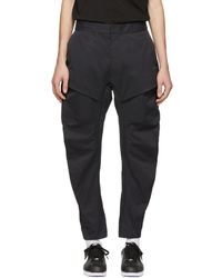Nike - Black Woven Tech Pack Cargo Trousers - Lyst