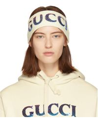 Gucci - マルチカラー シークイン ヘッドバンド And リストバンド セット - Lyst