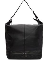 Bottega Veneta - Black Butter Calf Tote - Lyst