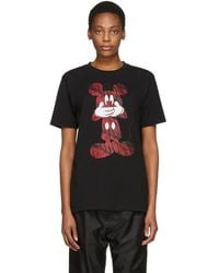 Marcelo Burlon - Black And Red Disney Edition Mickey Mouse T-shirt - Lyst