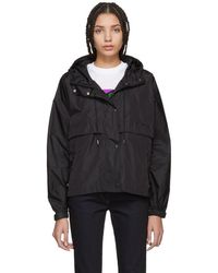 Prada - Black Nylon Waterproof Jacket - Lyst