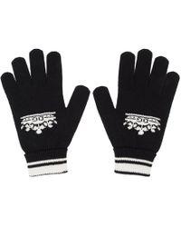 Dolce & Gabbana - Black Cashmere Gloves - Lyst