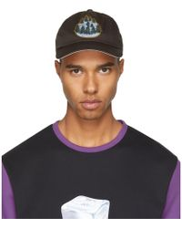 Acne Studios - Brown Forest Calis Soft Baseball Cap - Lyst