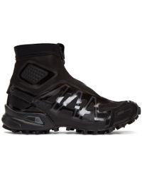 Yves Salomon - Black Snowcross Advanced Ltd Sneakers - Lyst