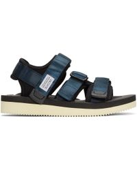 Suicoke - Navy Kisee Sandals - Lyst
