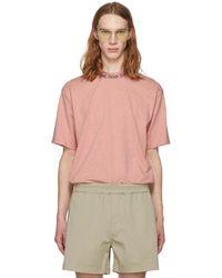 Acne Studios - Ssense Exclusive Pink Navid Shirt - Lyst