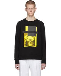 Neil Barrett - Black And Yellow Do Wrong To None, Trust A Few Sweatshirt - Lyst