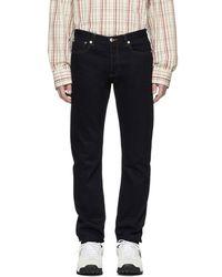 A.P.C. - Indigo Petite Standard Jeans - Lyst