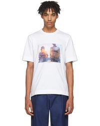 Jil Sander - Ssense Exclusive White Mario Sorrenti Edition 008 T-shirt - Lyst
