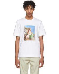 Jil Sander | White Mario Sorrenti Edition 001 T-shirt | Lyst