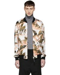 Mackage - Reversible Multicolour Bomber Jacket - Lyst