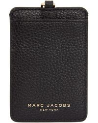 Marc Jacobs - Black Commuter Pass Card Holder - Lyst
