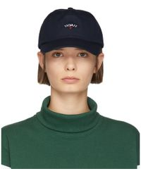 Noah - Navy Water-repellent Logo Cap - Lyst