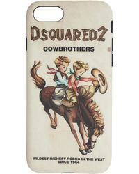 DSquared² - Multicolor Cowbrothers Iphone 8 Case - Lyst
