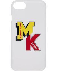 Maison Kitsuné - White Mk College Iphone 7 Case - Lyst