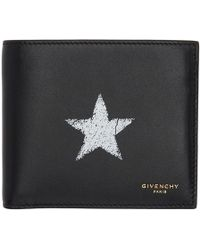 Givenchy - Black Blurred Star Wallet - Lyst