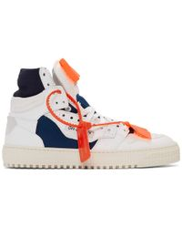 3eb0681ec57959 Off-White c/o Virgil Abloh Lace-up High-top Sneakers in White for Men - Lyst
