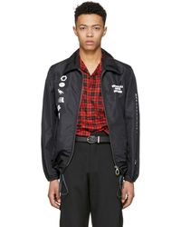 Lanvin - Black Symbols Jacket - Lyst