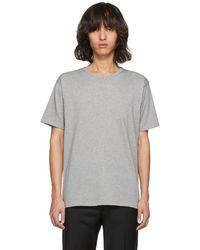 Acne Studios - Grey Niagara T-shirt - Lyst