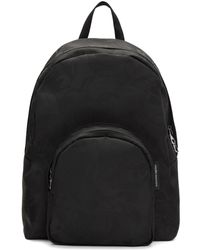 Alexander McQueen | Black Small Jacquard Backpack | Lyst