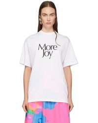 Christopher Kane - White More Joy T-shirt - Lyst