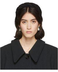 Sophie Buhai Black Silk Classic Twisted Headband