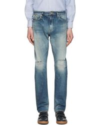 Nonnative - Indigo Dweller Usual Fit Jeans - Lyst