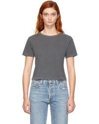 AMO - Black Babe T-shirt - Lyst