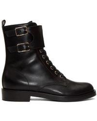 Gianvito Rossi - Black Lagarde Boots - Lyst