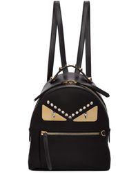Fendi - Sac a dos noir Mini Bag Bugs Zaino - Lyst