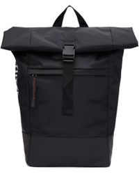 Stutterheim - Black Norsjo Backpack - Lyst