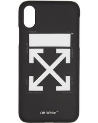 Off-White c/o Virgil Abloh - Black Arrows Iphone X Case - Lyst