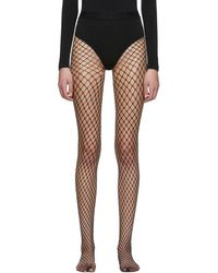 227869be12dc Wolford - Black Forties Tights - Lyst