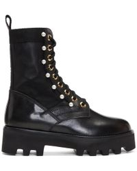 Altuzarra - Black Cosmo Jungle Boots - Lyst