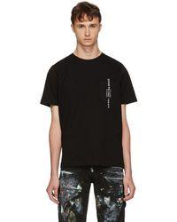DIESEL - Black Just Pocket T-shirt - Lyst