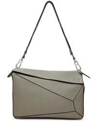 Loewe - Grey Xl Puzzle Bag - Lyst