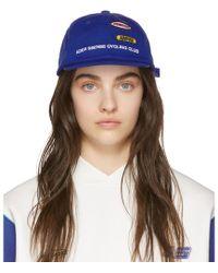 ADER error - Ssense Exclusive Blue Ascc Cycling Cap - Lyst