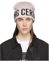 Opening Ceremony - Pink Logo Beanie - Lyst