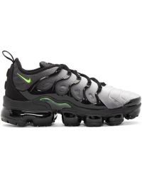 Nike - Black And White Air Vapormax Plus Sneakers - Lyst