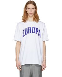 Etudes Studio - White Europa University T-shirt - Lyst