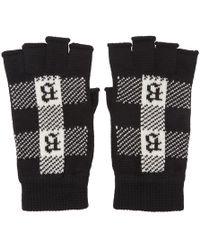 Brioni - Black Fingerless Gloves - Lyst