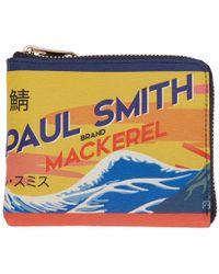 Paul Smith - Multicolor Mackerel Can Zip Wallet - Lyst