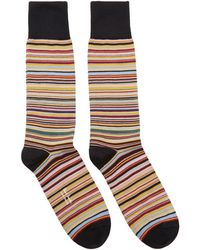 Paul Smith - Multicolour Multistripe Socks - Lyst