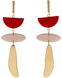 Isabel Marant | Red Other Potatoes Earrings | Lyst