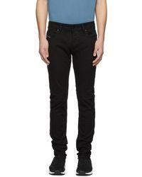 DIESEL - Black Sleenker Jeans - Lyst