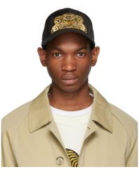 9ec8fed3c1c KENZO - Casquette noire Tiger Chinese New Year - Lyst