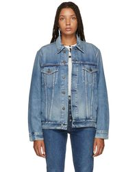 Citizens of Humanity - Blue Ilana Relaxed Denim Jacket - Lyst